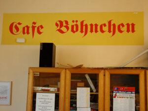 Dringende Unterstützung für das Café Böhnchen